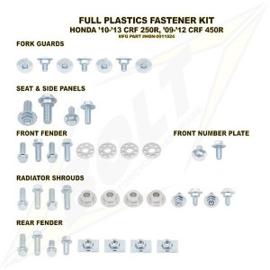Bolt boutenset voor plastic werk voor de Honda CRF 250R 2010-2013 & CRF 450R 2009-2012
