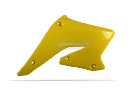 Polisport Radiator kappen geel voor de RM-Z 250 2004-2006