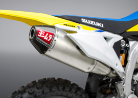 Yoshimura Compleet uitlaatsysteem RS4-E rvs demper rvs/carbon eindkap Suzuki RM-Z 450 2018-2020