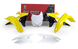 Racetech plastic kit Suzuki RMZ 250 2019 & RMZ 450 2018-2019