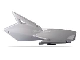 Polisport zijpanelen wit voor de RM-Z 250 2007-2009