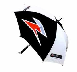ZETA paraplu zwart/wit