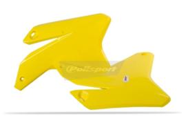 Polisport Radiator kappen geel voor de RM-Z 450 2005-2006