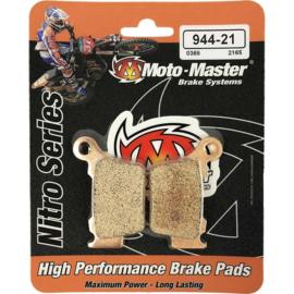 Moto Master Nitro Compound 21 remblokken Sintered voor of achter