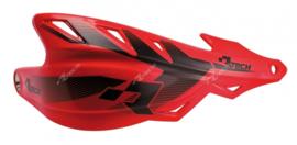 Rtech handkappen Raptor + montageset CRF rood speciaal voor de Supermoto en Enduro