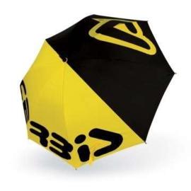 Acerbis paraplu zwart/geel