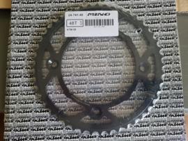 Mino achtertandwiel staal KTM SX 85 2003-2020 & Husqvarna TC 85 2014-2020
