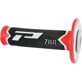Pro Grip 788 handvaten Tri-Compound grijs / rood / zwart