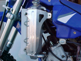 Works Connection Radiator Braces voor de Yamaha YZ 85 2002-2017