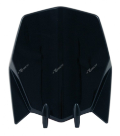 Racetech voornummerplaat zwart Husqvarna TC 449 2011-2013 & TE 449 2012-2013 & TE 511 2013