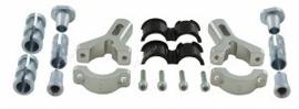 Rtech bevestigingsset Solid voor Rtech handkappen FLX aluminium