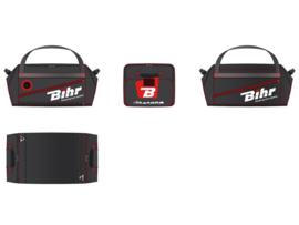 Bihr reistas 128L - 80 x 40 x 40cm zwart/rood