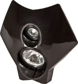 Trail Tech koplamp kit X2 70 watt HID zwart