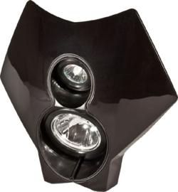 Trail Tech koplamp kit X2 70 watt halogeen zwart