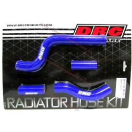 DRC radiator slangen set blauw voor de Yamaha YZ 250 2005-2020