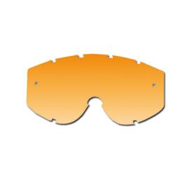 Pro Grip lens oranje voor progrip brillen zonder roll off voor Progrip 3201/3204/3301/3450