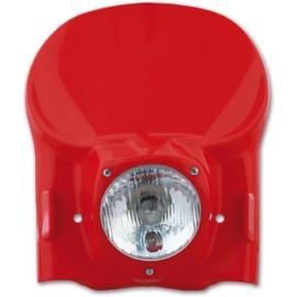 UFO Vintage universele koplamp kit rood