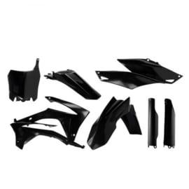 Acerbis plastic kit + voorvorkbeschermers voor Honda CRF 250R 2014-2017 & CRF 450R 2013-2016