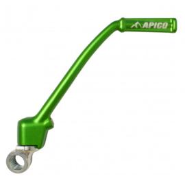 Apico kickstarter groen voor de Kawasaki KX 85 2001-2018