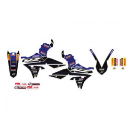 Blackbird Replica Yamaha Racing 20/21 sticker set Yamaha YZ 250F 2014-2018 & YZ 450F 2014-2017