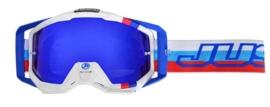 JUST1 Iris M2 crossbril blauw/rood/wit
