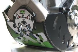 AXP blokbescherming GP zwart/groen voor de Kawasaki KX 250F 2013-2016