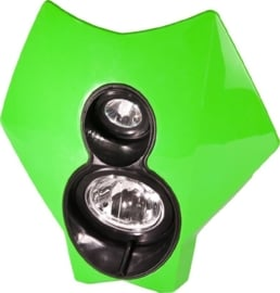 Trail Tech koplamp kit X2 70 watt halogeen groen