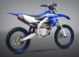 Yoshimura Compleet uitlaat systeem RS-4 titanium demper carbon / carbon eindkap Yamaha YZ 450F 2018
