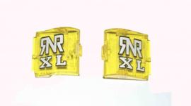 RNR losse kapjes Neon Geel voor RNR XL crossbrillen