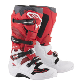 Alpinestars cross laarzen Tech 7 wit/rood
