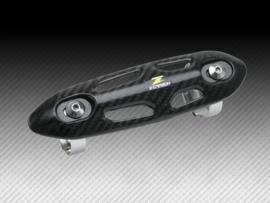 Z-Carbon uitlaatbocht bescherming voor 26mm tot 50mm uitlaatbochten