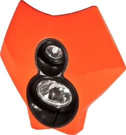 Trail Tech koplamp kit X2 70 watt halogeen oranje