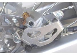 Works Connection achter rem beschermer voor de Kawasaki KX 250F 2004-2019 & KX 450F 2006-2019 & Suzuki RM-Z 250 2004-2006