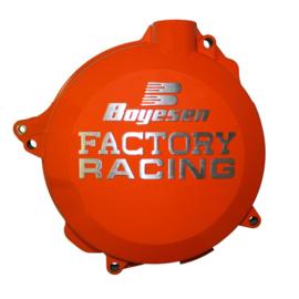 Boyesen koppelingsdeksel oranje KTM EXC 250/300 2017-2018 & SX 250 2017-2018 & Husqvarna TE 250/300 2017-2018 & TC 250 2017-2018