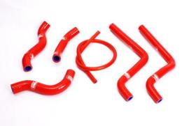 Samco Sports radiator slangen set rood voor de Honda CR 125R 2001-2002