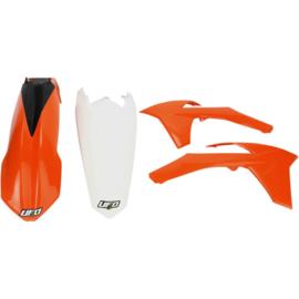 UFO plastic kit voor de EXC125/200/250/300/450/500 2012-2013 & EXC-F 250 2012-2013