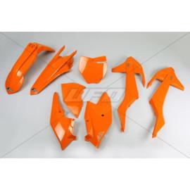 UFO plastic kit Oranje Kleur KTM SX 125/150 2016-2018 & SX 250 2017-2018 & SX-F 250/350/450 2016-2018