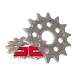JT voortandwiel staal met ZANDGROEF KTM SX/EXC/SXF/EXC-F 125/144/150/200/250/300/350/450/500/520/540 1991-2019 & Husqvarna TC/TE/FC/FE 125/150/250/350/450/501 2014-2019 & Beta RR 250/300 2013-2018 & RR 350 2011-2018 & RR 390 2015-2016 & RR 400/498 2010-20