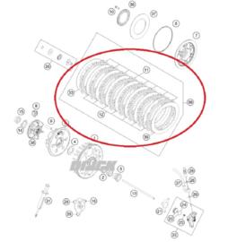 Rem & Koppeling onderdelen