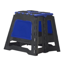 Polisport motorbok zwart/blauw