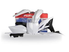 Polisport plastic kit wit voor de YZ 250F 2012-2013