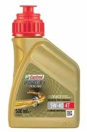 Castrol motorolie Power 1 Racing 4T 5W-40 500 ml