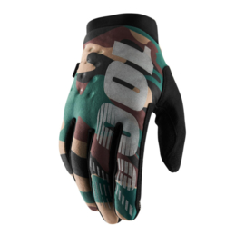100% koud weer handschoenen Brisker camo