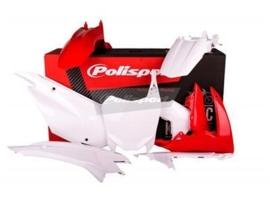 Polisport plastic kit voor de Honda CRF 110F 2013-2016