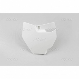 UFO voornummerplaat wit voor de SX 65 2016-2018