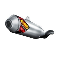 FMF Powercore 4 spark arrestor slip-on uitlaatdemper voor de XR 600 85-87 / 91-98 / 00