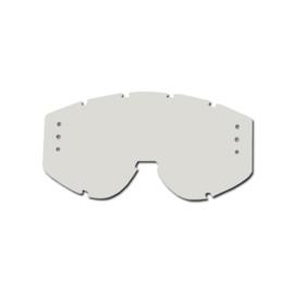 ProGrip lens clear met roll off gaten voor progrip brillen 3200/3201/3204/3301/3400/3404/3450