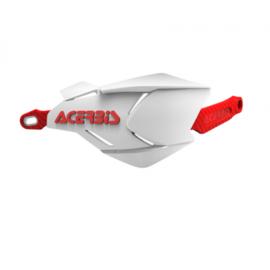 Acerbis handkappen X-Factory wit/rood