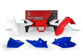 Racetech Plastic Kit Six Days OEM 2018 KTM EXC 250/300 2017-2019 & EXC-F 250/350/450/500 2017-2019