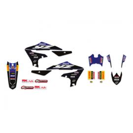 Blackbird Replica Yamaha Racing 20/21 sticker set Yamaha YZ 250F 2019-2021 & YZ 450F 2018-2021